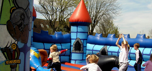 Holiday Claim Fears over Bouncy Castle Danger